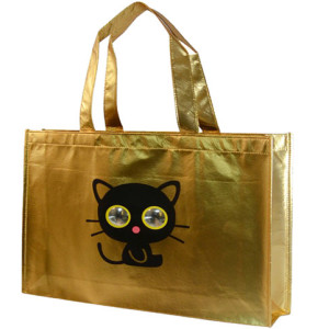 Aluminum plated steel bag-gold