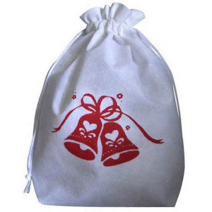 christmas drawstring bag