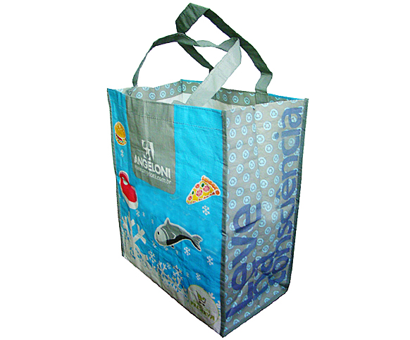 mattglossy laminated pp woven bag