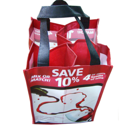 Reusable bottle Shopping Bag