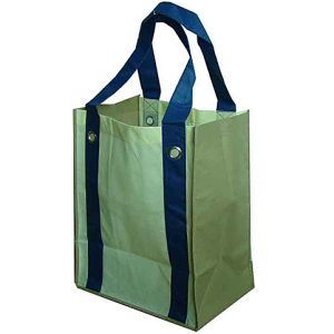 metal ring handle non woven bag