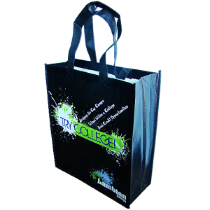 recycled laminated pp woven bag with customized logo
