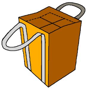 customization bottle bag