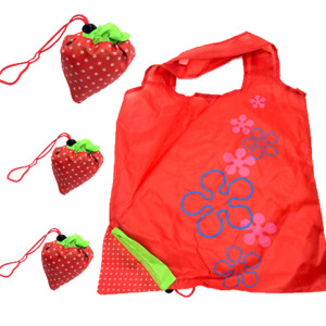 strawberry Polyester Bag